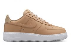 Кроссовки Nike Air Force beige low