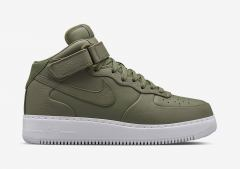 Кроссовки Nike Air Force olive high