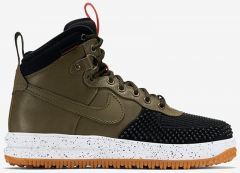 Кроссовки Nike Air Force 1 Lunar Duckboot olive